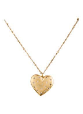 kate spade new york Medaillon-Kette HEART