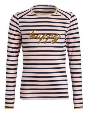 name it Longsleeve mit Paillettenbesatz