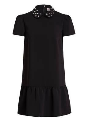 RED VALENTINO Kleid mit Schmucksteinbesatz