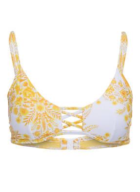 SEAFOLLY Bustier-Bikini-Top SUNFLOWER