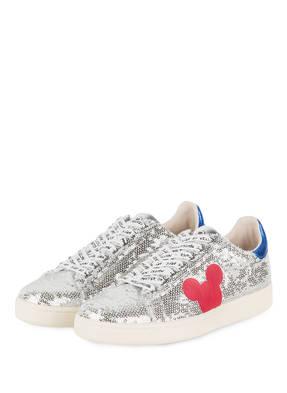 MASTER OF ARTS Sneaker mit Paillettenbesatz