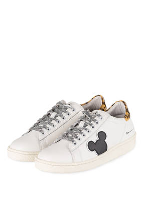 MASTER OF ARTS Sneaker GRAND MASTER WHITE LEATHER LEO