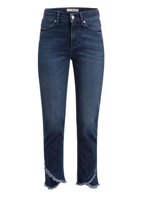 RIANI 7/8-Jeans mit Paillettenbesatz