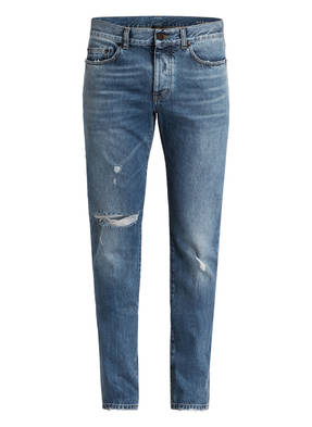 SAINT LAURENT Destroyed-Jeans Slim Fit