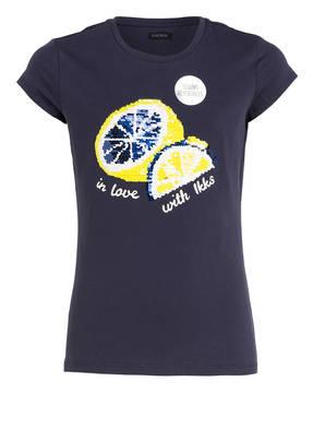 IKKS T-Shirt mit Wendepailletten