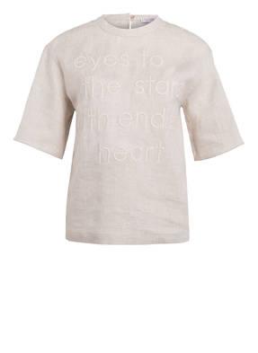 BRUNELLO CUCINELLI T-Shirt aus Leinen