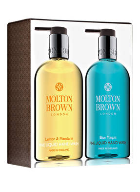 MOLTON BROWN LEMON & MANDARIN + BLUE MAQUIS