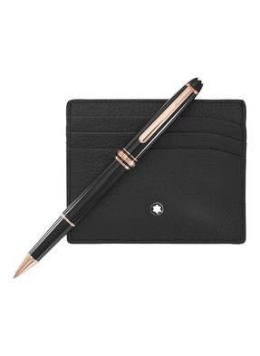 MONTBLANC Rollerball MEISTERSTÜCK RED GOLD CLASSIC