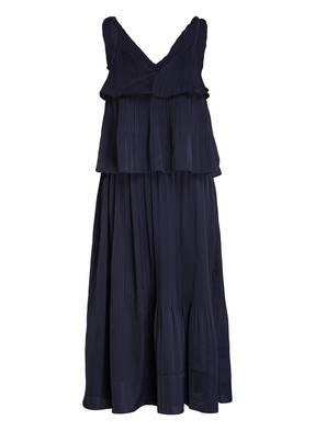 maje Plissee-Kleid