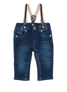 Steiff Jeans mit Hosenträgern