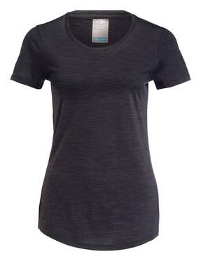 icebreaker T-Shirt SPHERE mit Merinowolle-Anteil