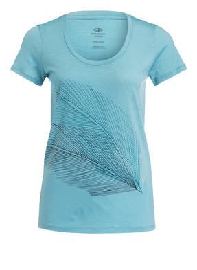 icebreaker T-Shirt TECH LITE mit Merinowolle-Anteil