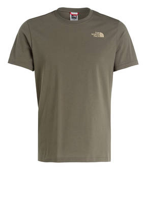 THE NORTH FACE T-Shirt RED BOX