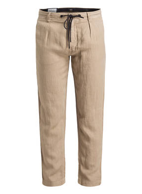 BOSS Leinenhose SYMOON Tapered Fit