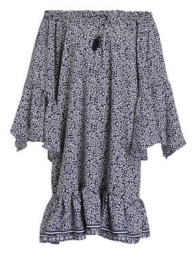 PINK PLANET Off-Shoulder-Kleid mit Seidenanteil
