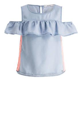 GARCIA Cold-Shoulder-Bluse