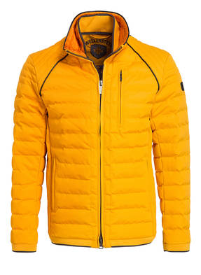 wellensteyn jacke herren blau orange