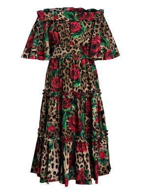 DOLCE&GABBANA Off-Shoulder-Kleid