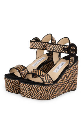 JIMMY CHOO Wedges ABIGAIL 100