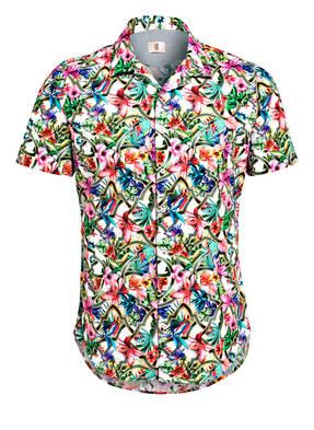 Q1 Manufaktur Halbarm-Hemd OLLY Slim Fit