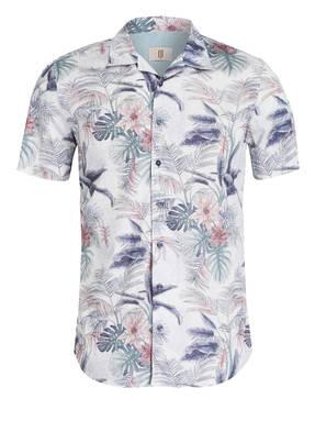 Q1 Manufaktur Halbarm-Resorthemd OLLY Slim Fit