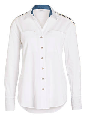 just white Bluse