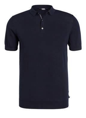 Karl Lagerfeld Strick-Poloshirt Regular Fit