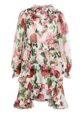 DOLCE&GABBANA Chiffon-Kleid aus Seide