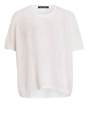 IRIS von ARNIM Kurzarm-Pullover aus Leinen