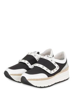 VOILE BLANCHE Plateau-Sneaker MIRKA