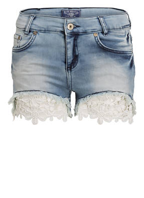 BLUE EFFECT Jeans-Shorts mit Spitzenapplikation