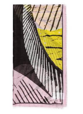 MARCCAIN Schal mit Leinenanteil
