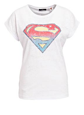 mavi T-Shirt SUPERMAN