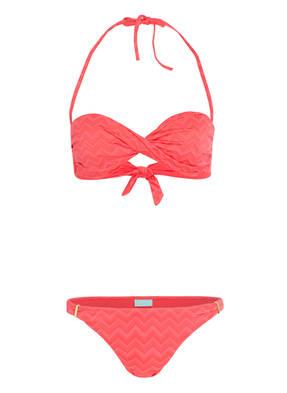 MELISSA ODABASH Bandeau-Bikini MARTINIQUE
