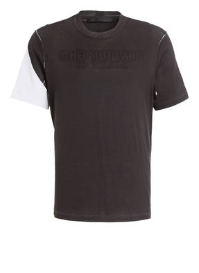 HELMUT LANG T-Shirt mit monochromen Logo-Print