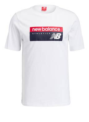 Weisse new balance printe T Shirts für Herren online kaufen