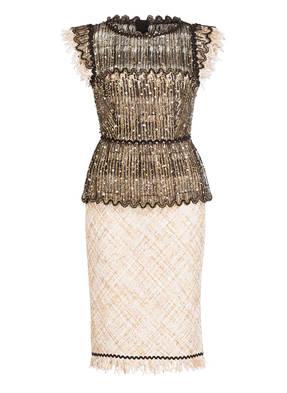 TALBOT RUNHOF Tweed-Kleid