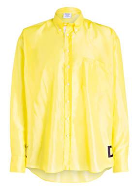VETEMENTS Oversized-Hemd Comfort Fit