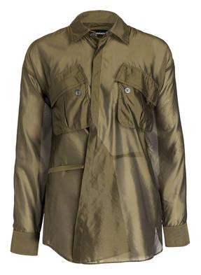 DSQUARED2 Bluse mit Seidenanteil
