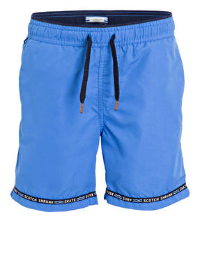 SCOTCH SHRUNK Badeshorts mit Magic-Print
