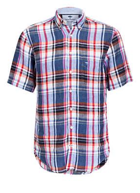 FYNCH-HATTON Halbarm-Hemd Casual Fit aus Leinen