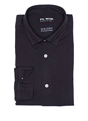FIL NOIR Jersey-Hemd TERAMO Shaped Fit
