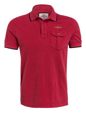 AERONAUTICA MILITARE Piqué-Poloshirt Regular Fit