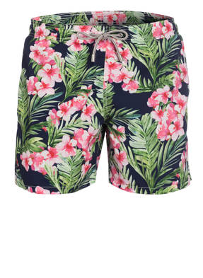 MC2 SAINT BARTH Badeshorts GUSTAVIA FOLIAGE
