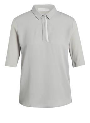 FABIANA FILIPPI Poloshirt im Materialmix