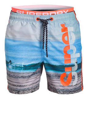 Superdry Badeshorts PHOTOGRAPHIC VOLLEY