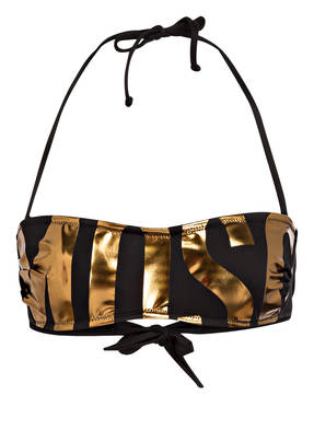 MOSCHINO Bandeau-Bikini-Top