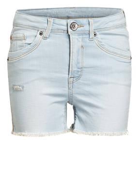 GARCIA Jeans-Shorts mit Galonstreifen