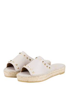 WALK AND LOVE Pantoletten im Espadrilles-Stil