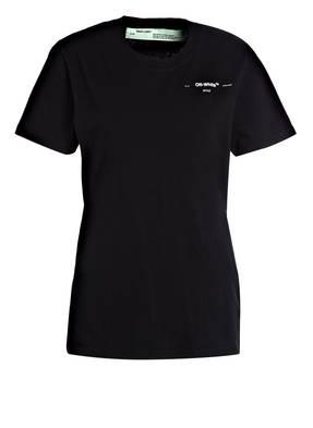 OFF-WHITE T-Shirt mit Rückenprint